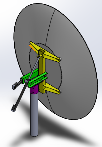 Antenna Tracking System | 3D CAD Model Library | GrabCAD