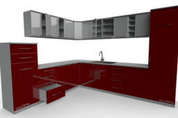 Red Kitchen... CGPdesign education