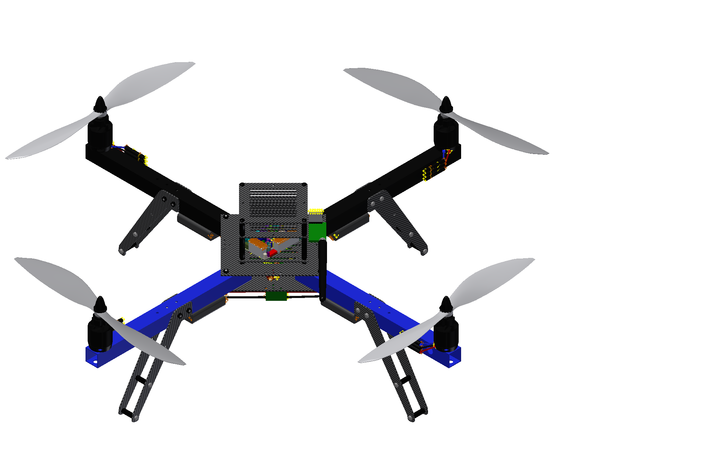 3DR Arducopter Quad-C Frame and Electronics