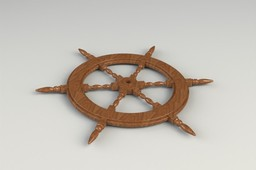 Classic Ship's Wheel