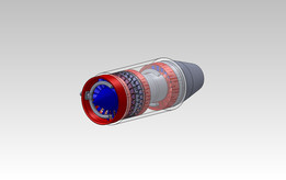 Compressed Air Jet Engine 4 Inch
