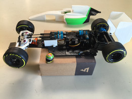 RS-01 Version C OpenRC F1 Fully Adjustable Racing Suspension Chassis
