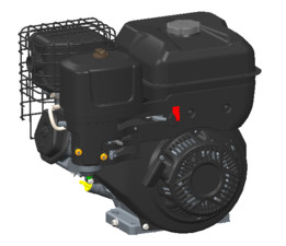 10 HP Gasoline engine
