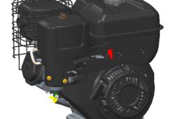 10 HP Gasoline engine