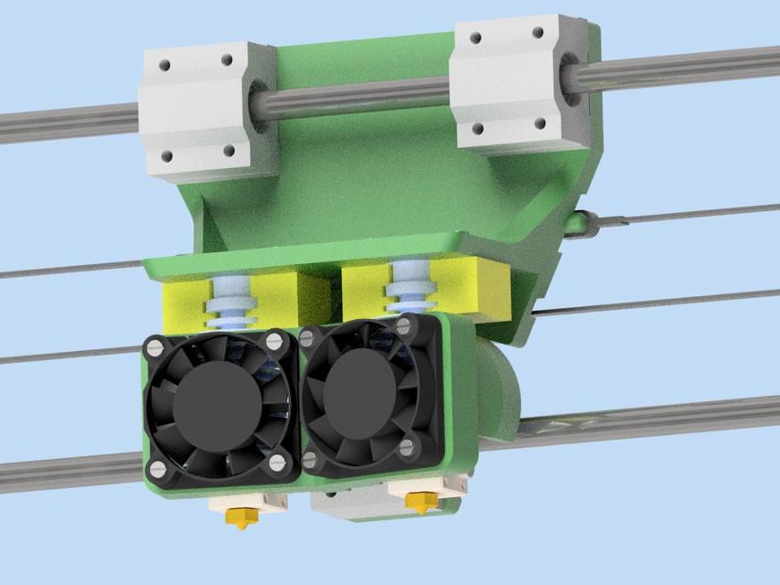 New bowden extruder | 3D CAD Model Library | GrabCAD