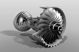 Triple-Spool High Bypass Turbofan (Rolls-Royce Trent 1000)