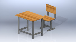 Welding Desk and Chair
