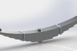 Leaf Spring Design and Analysis