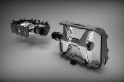 BEAR TRAP TYPE PEDALS
