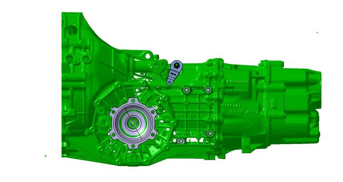 Gearbox Audi 012 / 01E   3D CAD Model Library   GrabCAD