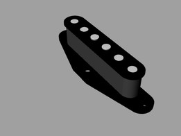 Telecaster-style single-coil neck pickup