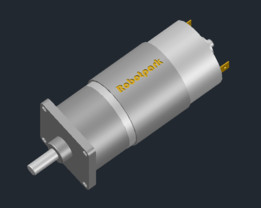Robotpark 42mm Medium Dc Motor 100Rpm