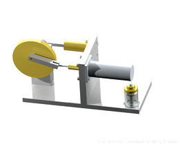 Gamma Stirling Engine
