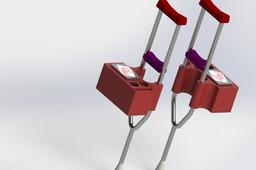 Simple Crutch Accessory