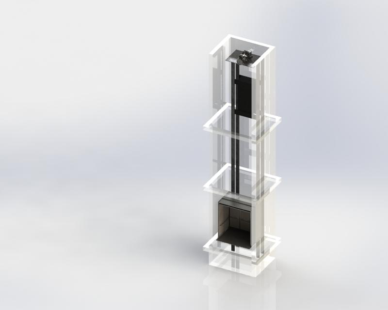 Elevator | 3D CAD Model Library | GrabCAD
