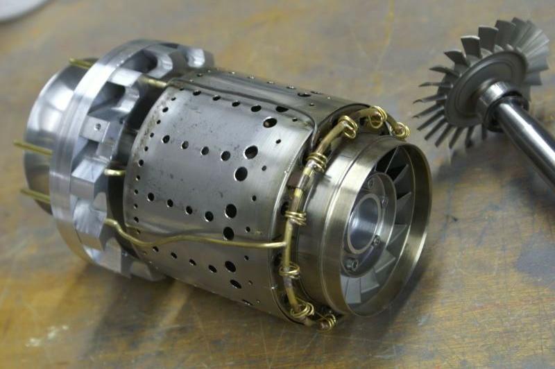 Gr180 Gas Turbine Jet Engine 3d Cad Model Library Grabcad