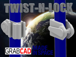 Twist-N-Lock NASA Handrail Clamp