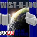 Twist-N-Lock NASA Handrail Clamp