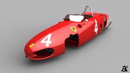 "Ferrari 156 F1 ""sharknose"" part1_chasis and more"