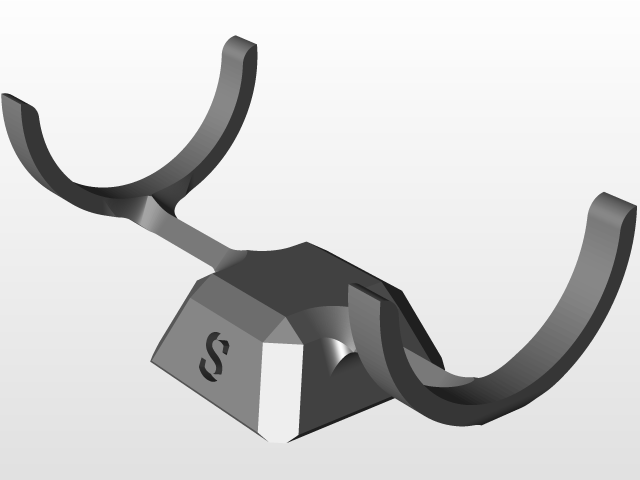 JBL Flip 3 Stand | 3D CAD Model Library | GrabCAD