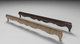Wooden leg- long
