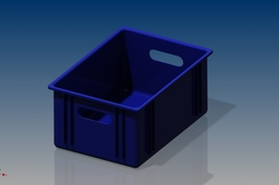 plastic block box