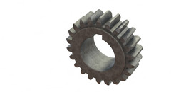 Spur Gear, Driven, 22 Teetht, Bore 30mm, Keyway 8x7, Module 2,5