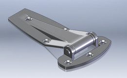 Stainless Stamped Hinge