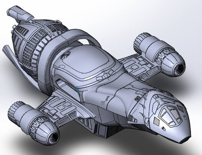 Firefly Serenity | 3D CAD Model Library | GrabCAD