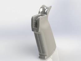 3D Scanned Magpul MOE Grip