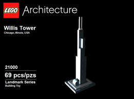 Lego Architecture Set 21000 Willis (Sears) Tower