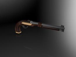 Handgun uncompleted