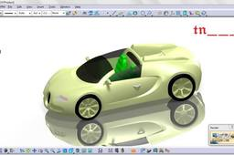 a car in CATIA V5