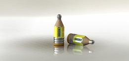 Revised - Heroes Pencil Bottle , Cause Education