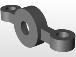 Z upper drive screw support with 608 bearing