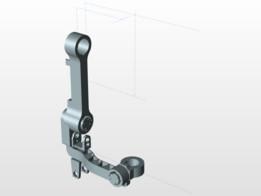 3 DOF Hip Exoskeleton