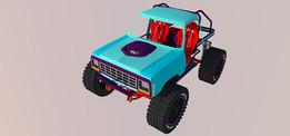 First gen Dodge truggy rock crawler