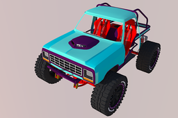 First gen Dodge truggy rock crawler
