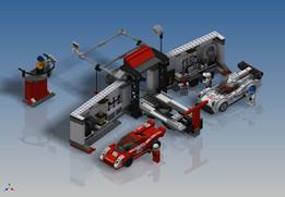 LEGO Speed Champions - Porsche 919 Hybrid and 917K Pit Lane (76876)