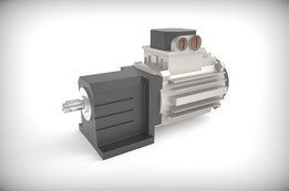 Motor with gearbox