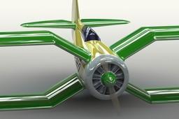 X-wing bipe