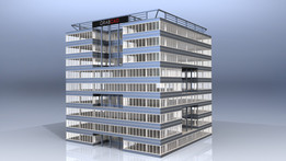 """CG Office Building """"The Cube"""""""