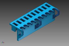 roboRIO 10x3 retention clip - heavy cable