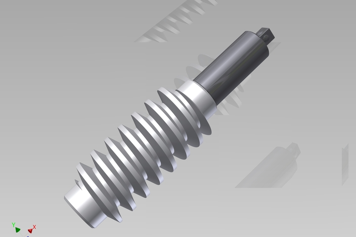 Tornillo Sin Fin Autodesk Inventor Other 3d Cad Model