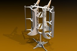 Vertical Axis Wind Turbine (VAWT)