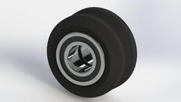 Delrin Mini V Wheel with bearing MR105ZZ