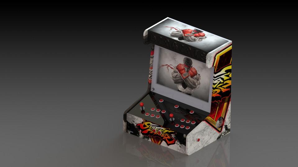 arcade - Recent models | 3D CAD Model Collection | GrabCAD