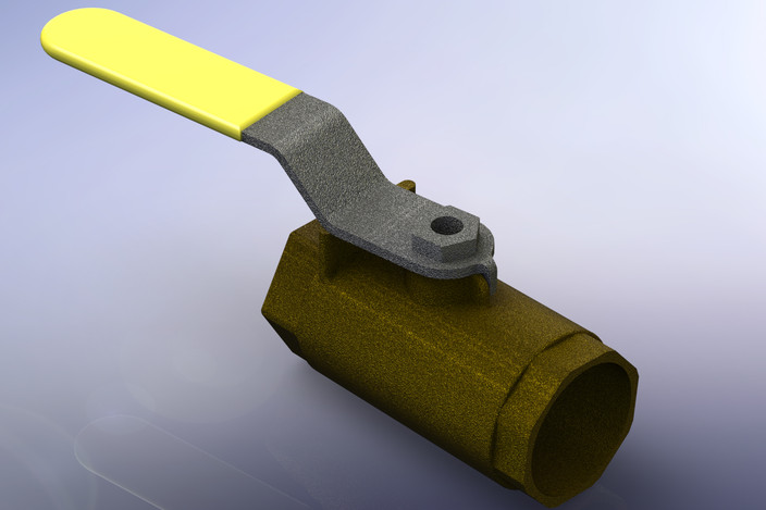 manual gas shut off valve