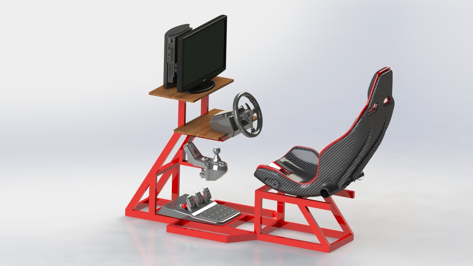 Playseat DIY (siège simulateur automobile) Large