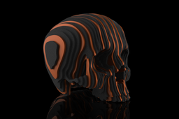 Solid Part Skull